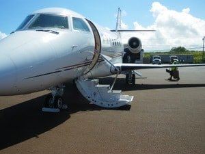 Leaving Kapalua Resort on a Jet Plane