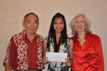 Roy and Betty Sakamoto Scholarship Awarded to Lahainaluna Graduate