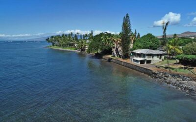 Rare Lahaina Real Estate Oceanfront Home for Sale on Front Street