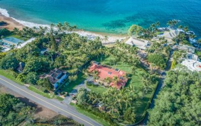 Ideal Maui Beachfront Home For Sale at 4584 Makena Road