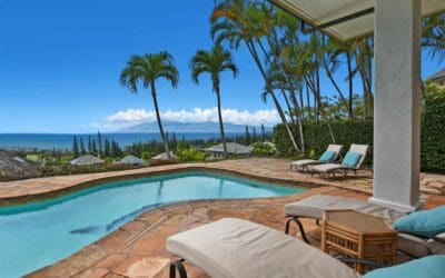 Dreamy Kapalua Home with Vast Ocean Views for Sale in Pineapple Hill